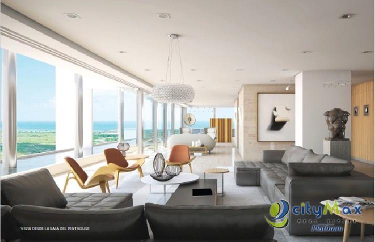 Penthouse en venta 5H/7B en 7Mares at Cap Cana