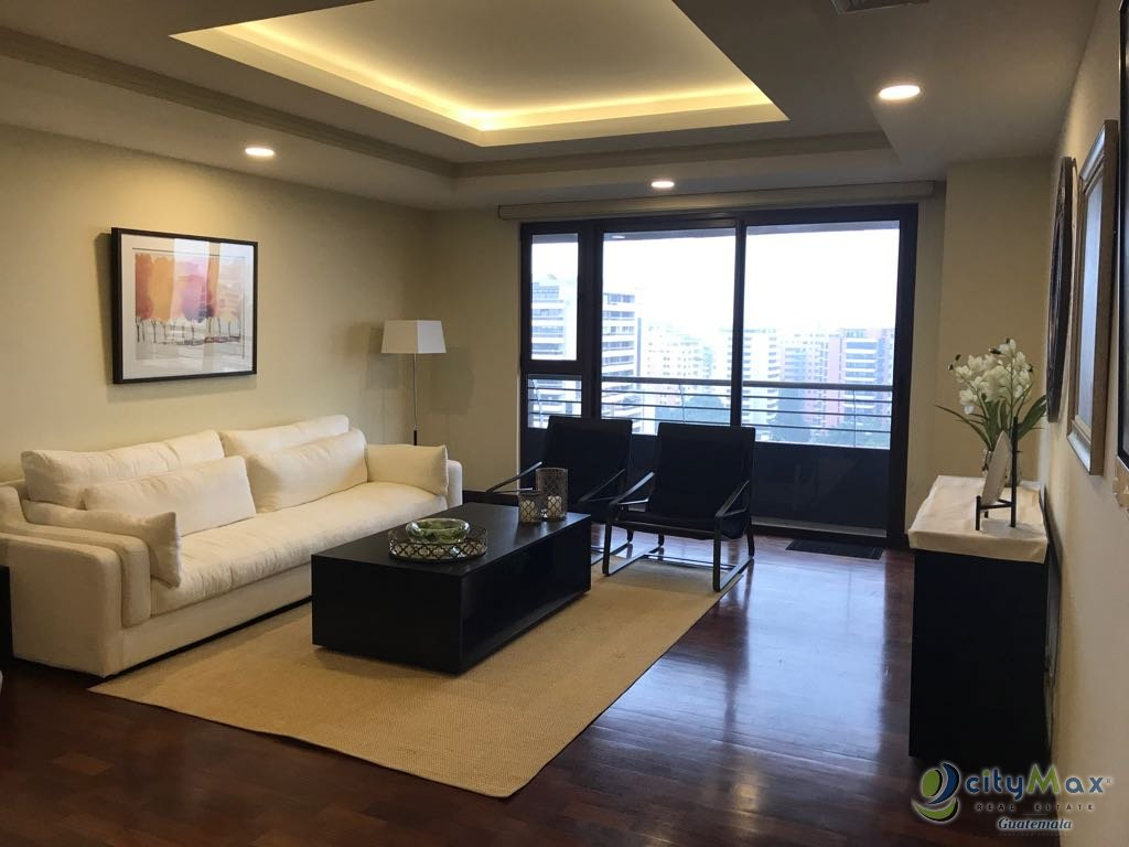 CityMax renta apartamento amueblado zona 10 Guatemala