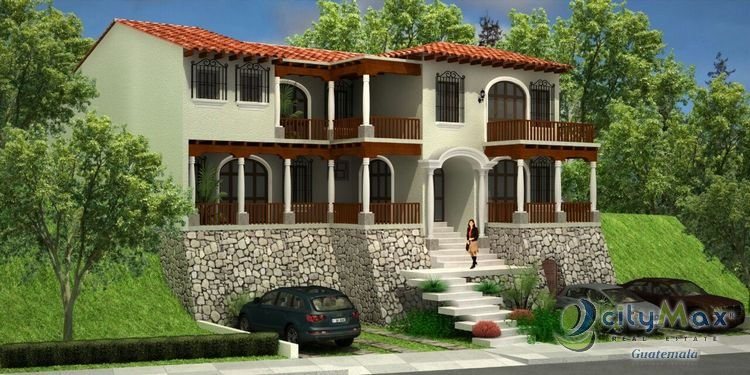 cityMax vende casa en Santa Rosalía Guatemala