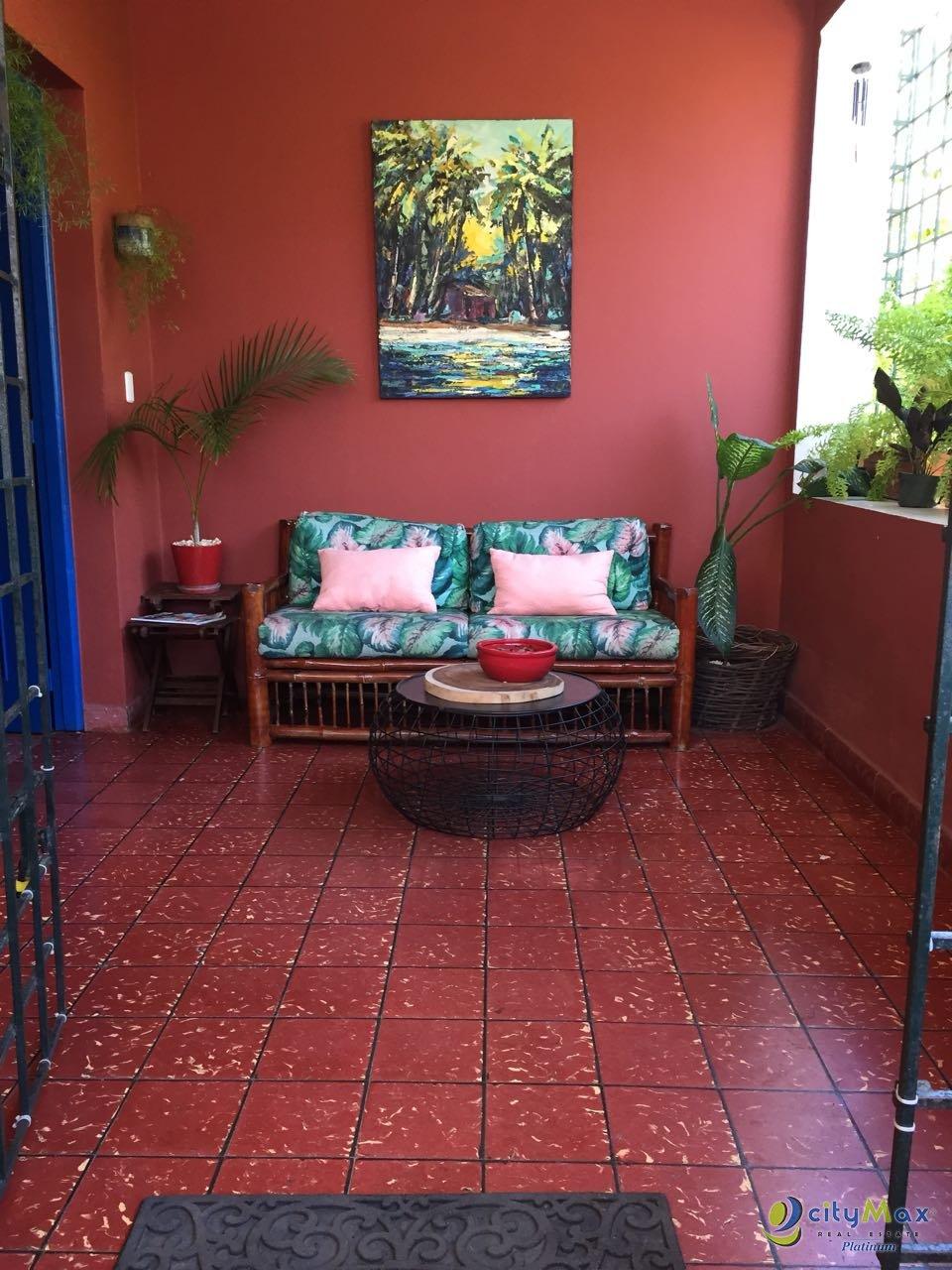 Casa Residencial en Renta en zona exclusiva de Gazcue