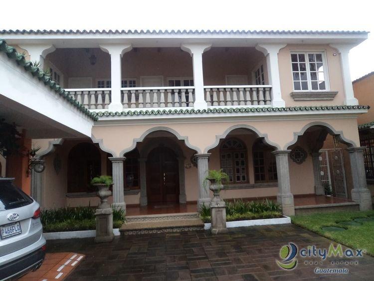 CITYMAX vende casa en Colonia Mariscal zona 11