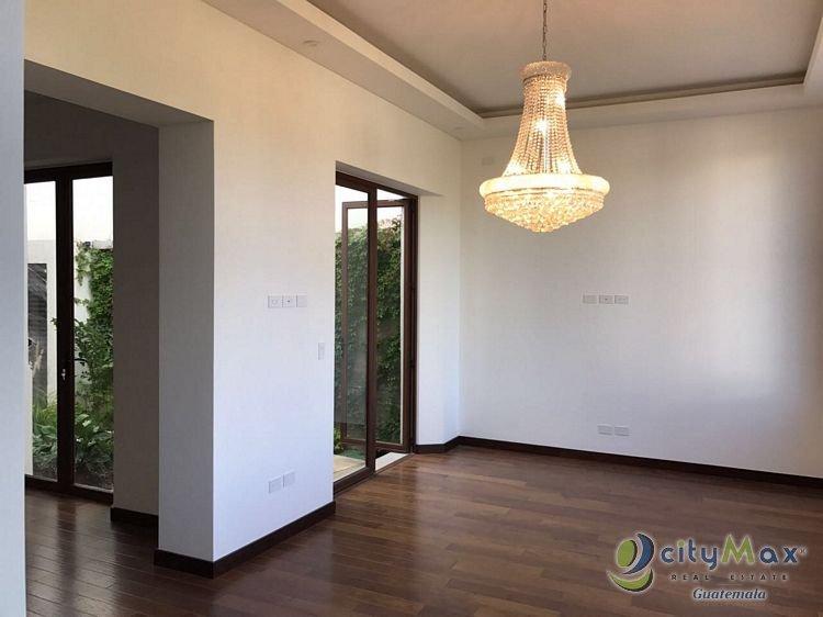 CityMax renta casa en NOVA Cayala zona 16 Guatemala