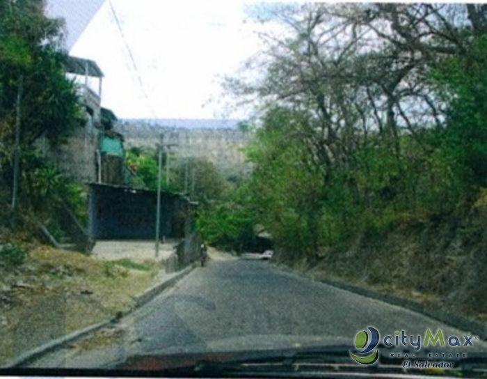 Terreno en venta en el Lago de Ilopango