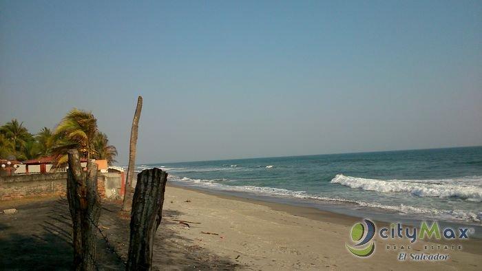 Terreno en venta Playa El Pimental San Luis Talpa