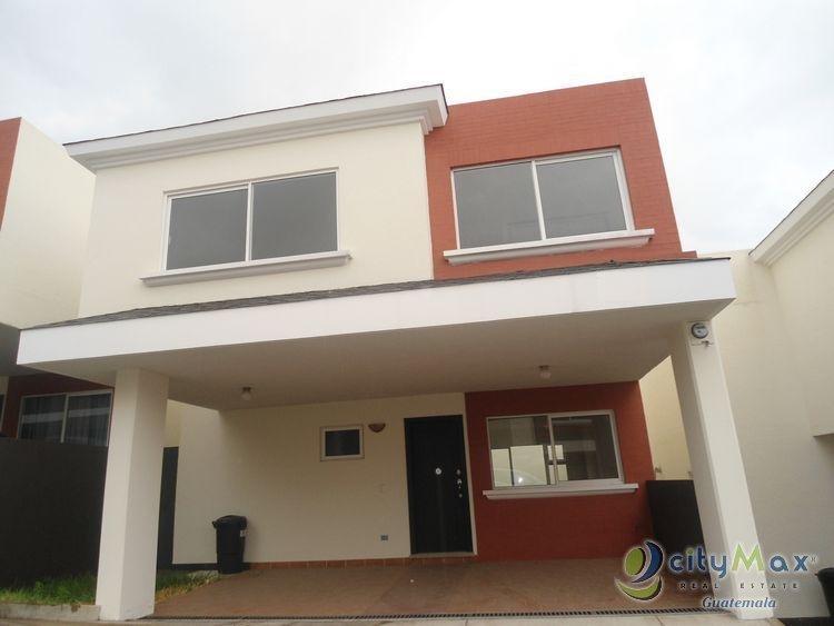 Hermosa casa en venta en Condominio en zona 7 Mixco