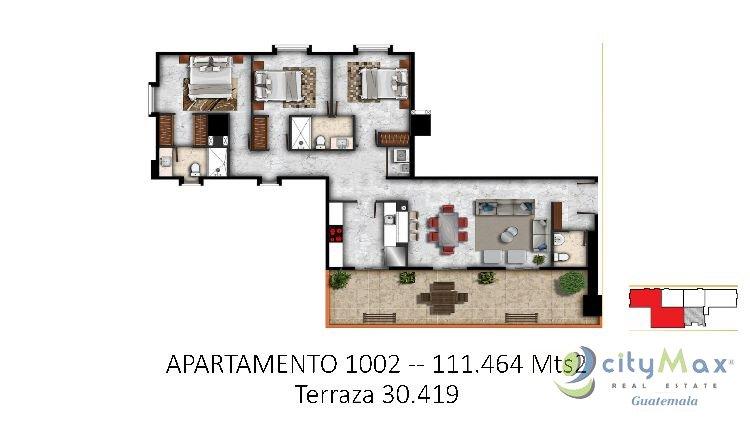 CityMax promueve Proyecto de apartamento Zona 15 Venta