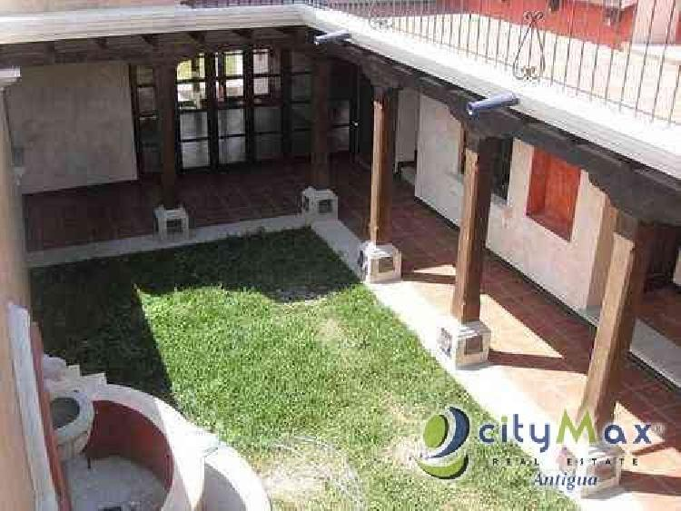 ¡Venta de casa en Antigua Guatemala, promueve CityMax!
