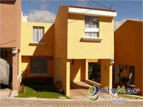 ¡Citymax vende casa residencial San Lucas Sacatepéquez!