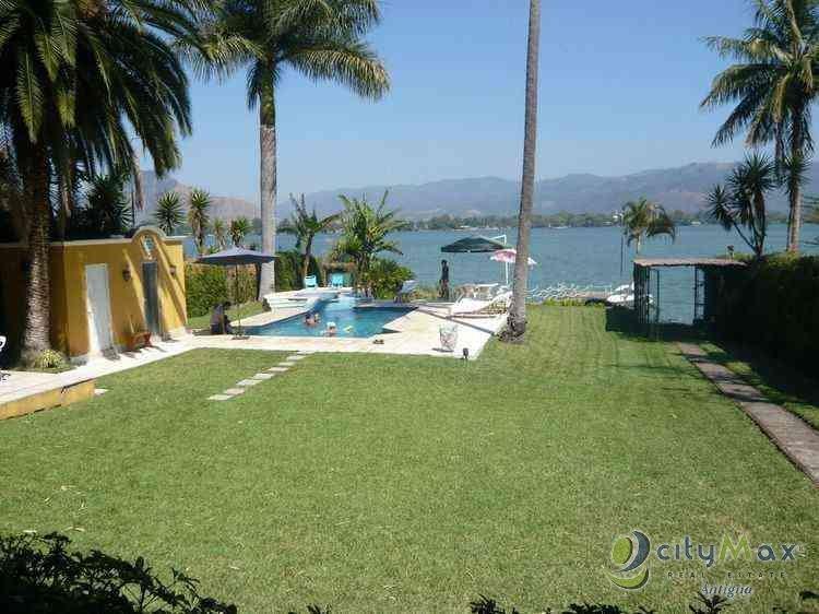 ¡CityMax vende casa a orillas del lago de Amatitlán!
