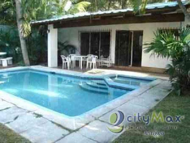 ¡CityMax Antigua vende casa en Puerto Viejo Monterrico!