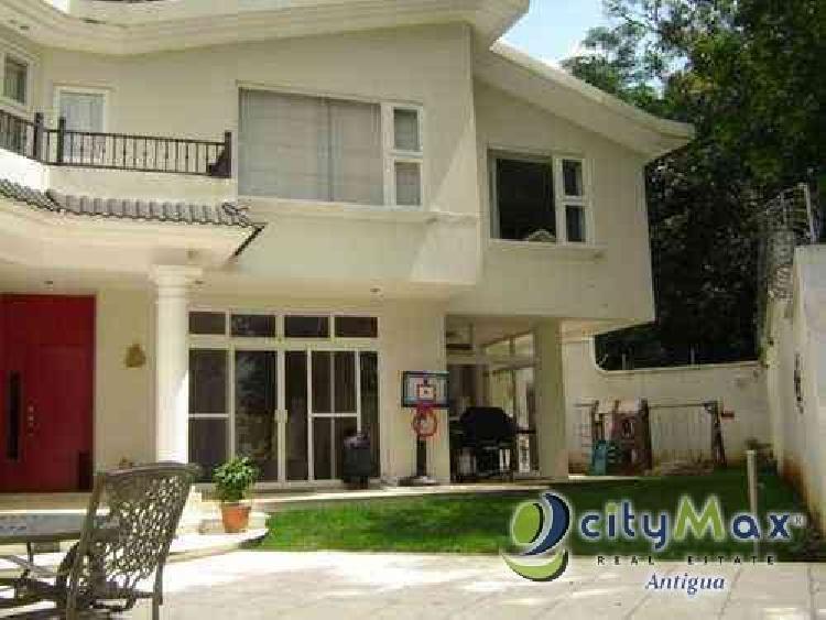 Vendo casa en Miralvalle, San Lucas. Citymax Antigua