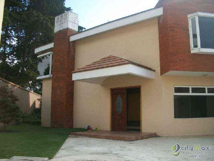 Citymax vende casa Los Alpes San Lucas Sacatepequez