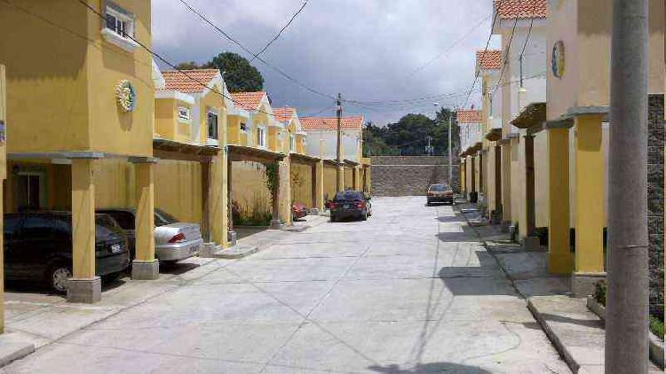 VENTA de Casa en San Lucas Sacatepequez por CITYMAX!!