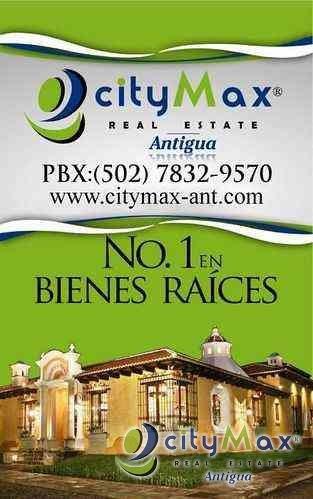 CityMax Antigua vende casa camino a Monterrico