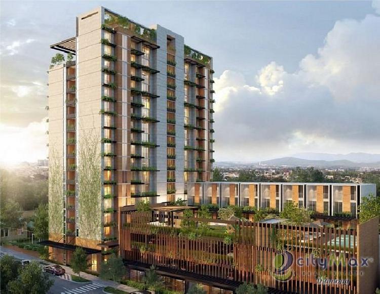 Apartamento en venta en zona 2 Ciudad Nueva con piscina