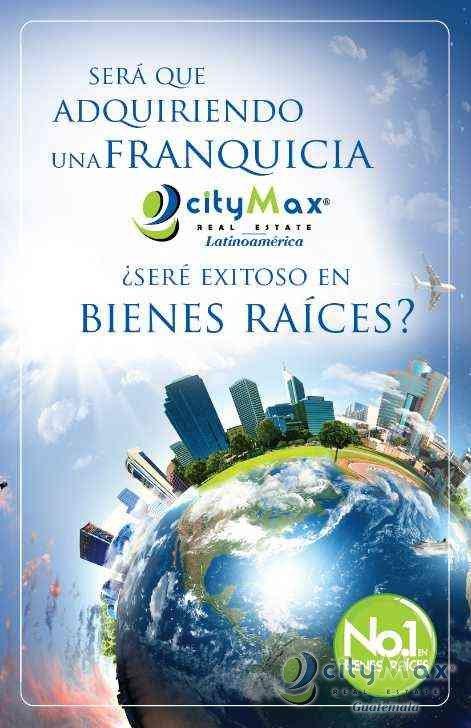 CITYMAX REAL ESTATE FRANQUICIA INMOBILIARIA