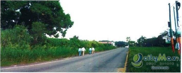 Terreno en venta en Km 62.0 Autopista Escuitla-Puerto Q