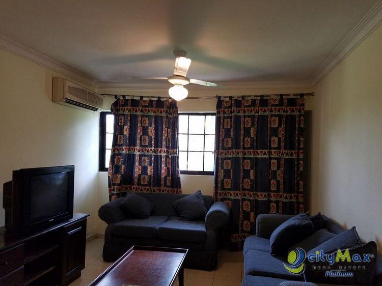 Apartamento amueblado en ¡alquiler! Gazcue por CityMax