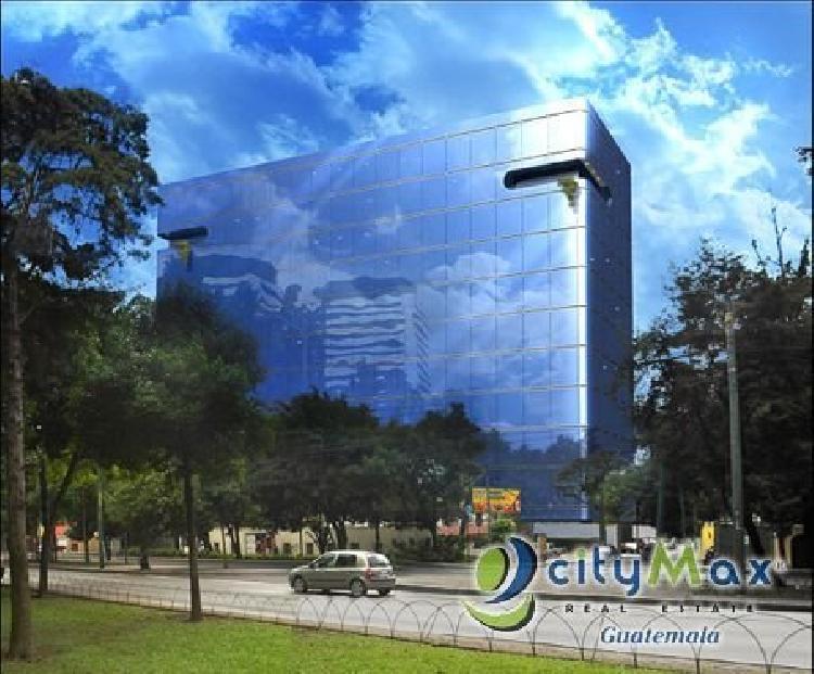 Se VENDE Oficina en Edificio Moderno Zona 9 CITYMAX