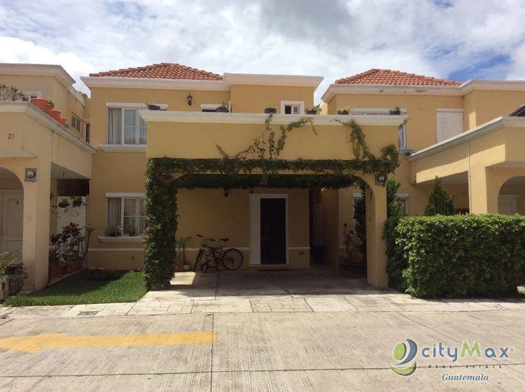 CityMax vende casa en condominio San Nicolás Guatemala