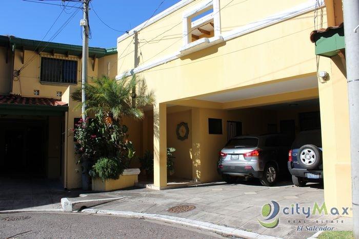 Casa en venta Parte Alta Escalón Condominio Privado