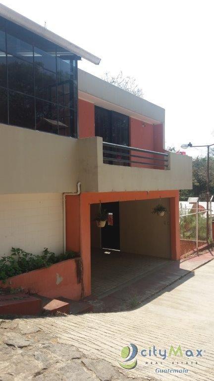 CASA RESIDENCIAL EN VENTA  EN SAN JORGE YUMAR MIXCO GUATEMALA