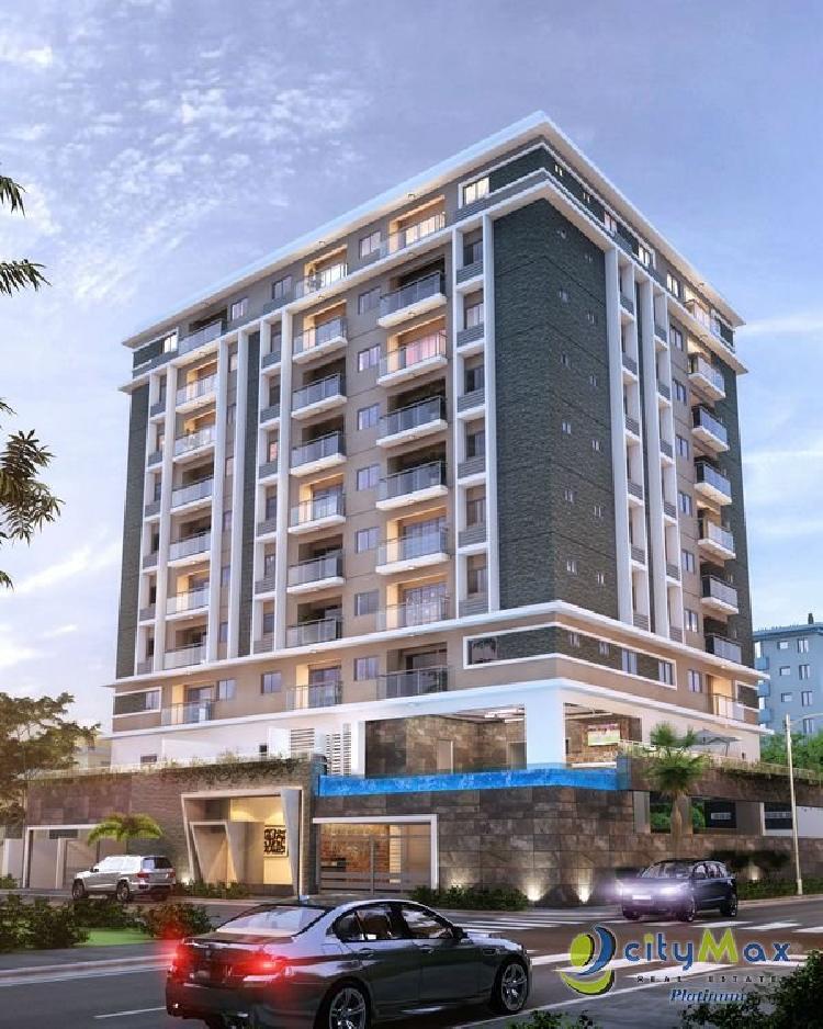 Apartamento en Evaristo Morales en Citymax Platinum