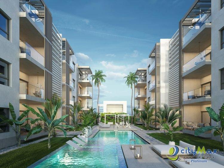 Apartamento en venta! 2 habitaciones y 2 banos Bavaro