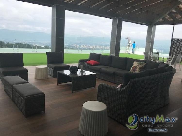 CityMax renta apartamento en Zona 10 Muxbal Guatemala