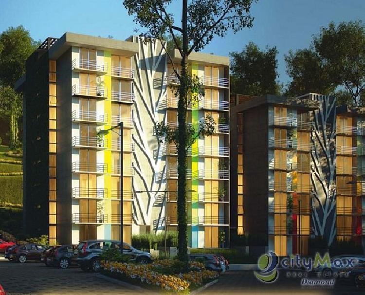CITYMAX DIAMOND Apartamento en venta nuevo en zona 16