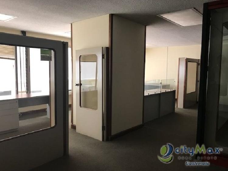 CITYMAX vende oficina para remozar en zona 10 Guatemala