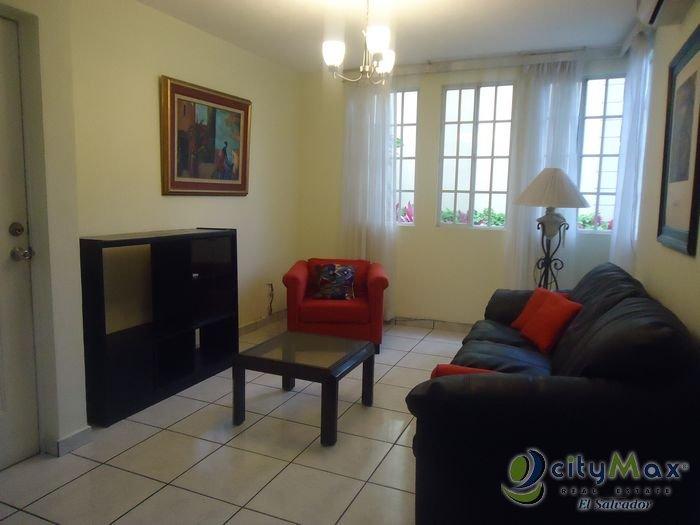 Alquiler de apartamento amueblado Colonia San Benito