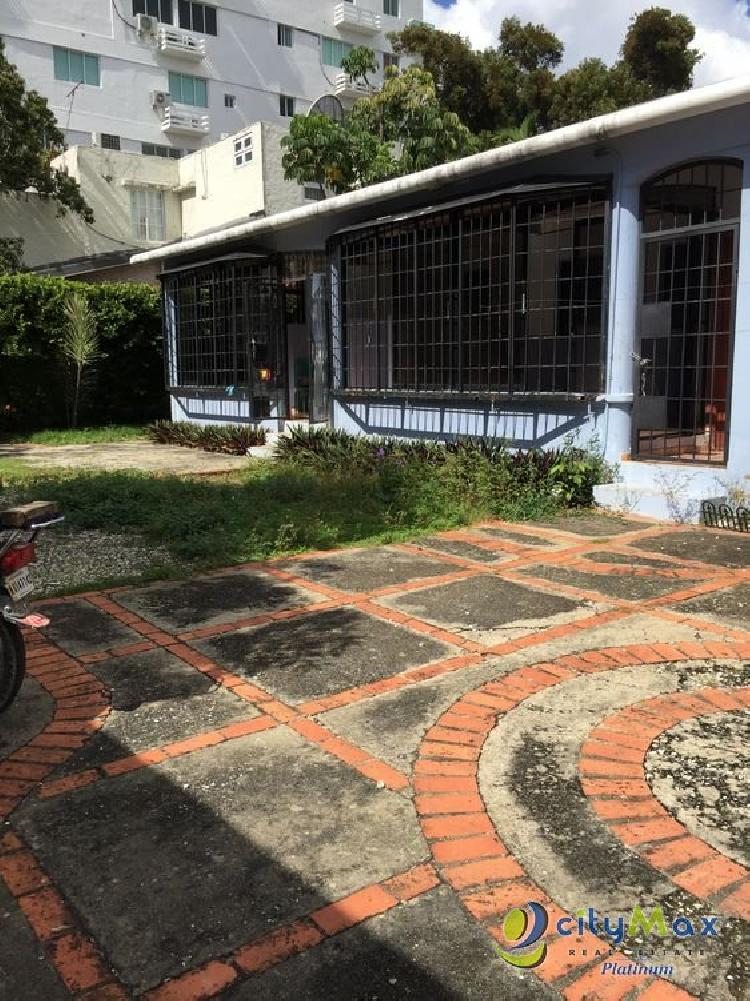 Citymax Platinum renta casa para uso de oficina Gazcue