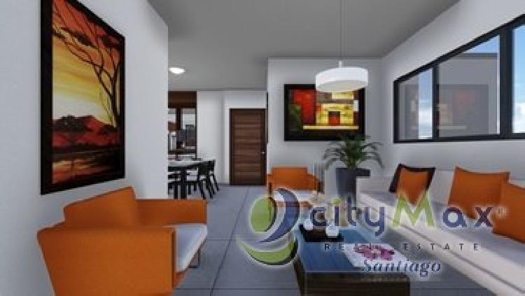 Apartamentos en venta en  Villa Olga Santiago.