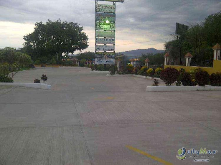 LOCAL COMERCIAL EN RENTA EN RIO HONDO ZACAPA