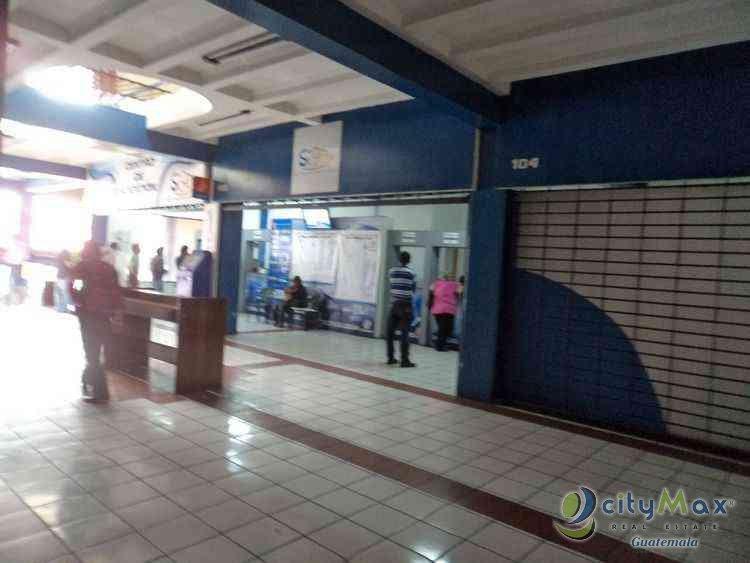 LOCAL EN ALQUILER CENTRO COMERCIAL DE 9 AVENIDA ZONA 1 GUATEMALA