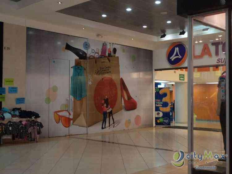 Locales disponibles en Centro Comercial zona 18 CITYMAX