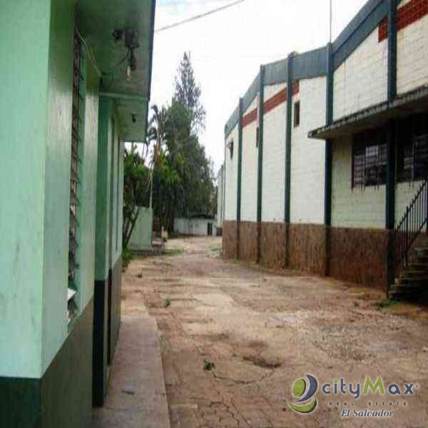 Citymax vende nave industrial en Ahuachapan