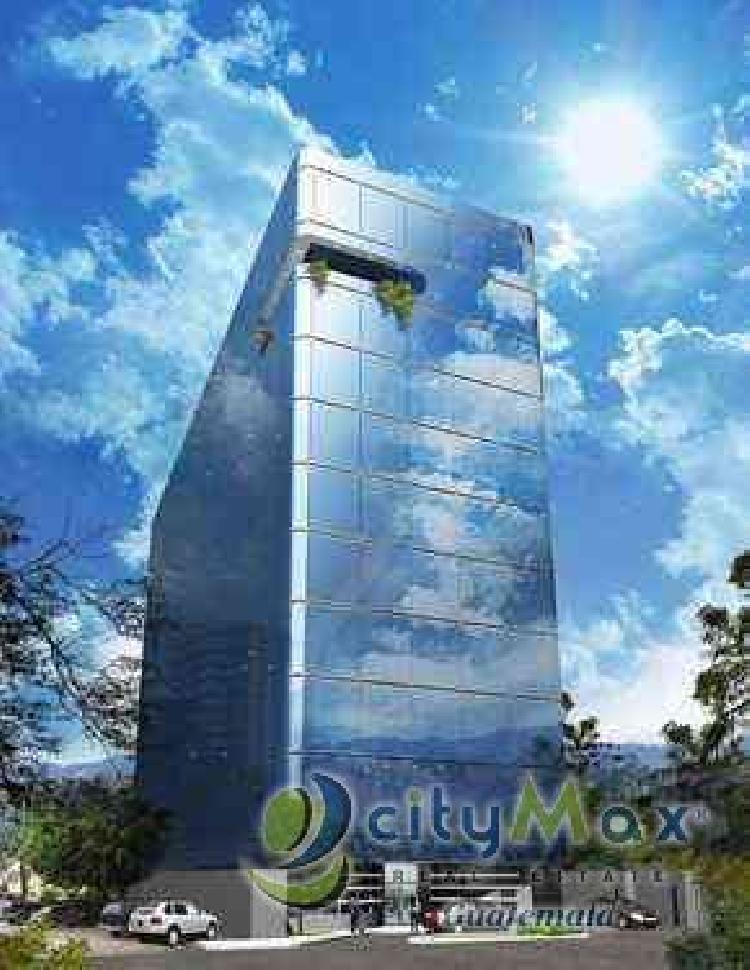Oficina Venta en Edificio Moderno de la ZONA 9 ¡CITYMAX