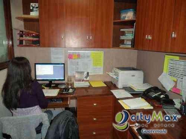 OFICINA EN VENTA UBICACION EXCELENTE ZONA 10 CIUDAD GUATEMALA