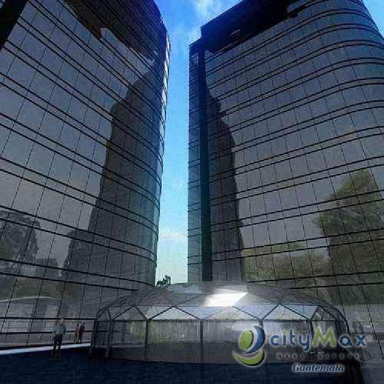 Oficina en venta sobre diagonal 6 zona 10 Guatemala