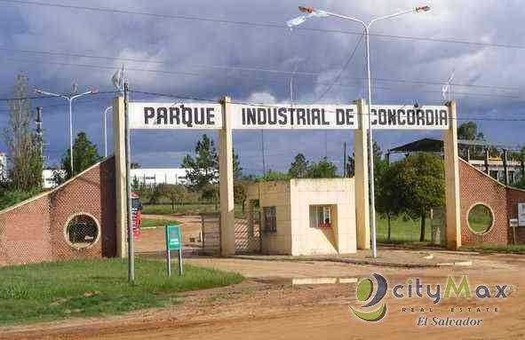 cityMax vende terreno en parque industrial de Usulután