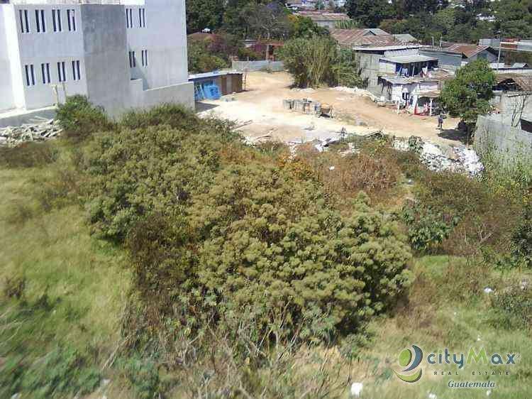 Rento terreno en Calzada Roosevelt Guatemala