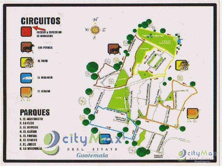 Terreno en Venta Campo Aventura Palin Escuintla CITYMAX