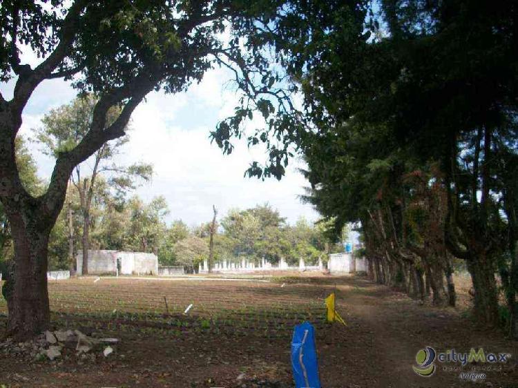 CityMax Antigua Vende Terreno para Cultivo en Parramos
