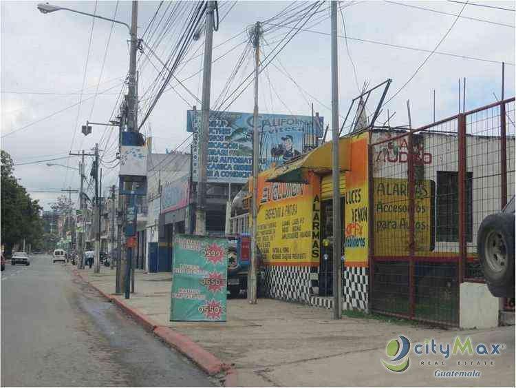 TERRENO Y LOCALES COMERCIALES EN VENTA EN ZONA 18 CIUDAD DE GUATEMALA