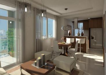 Venta de apartamento de 1 habitación en Naco