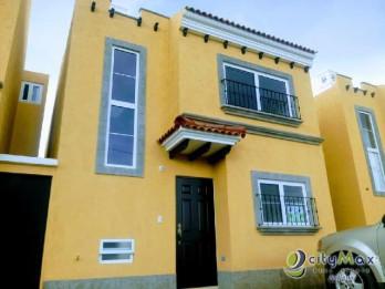 Casa en renta en condominio exclusivo en Chimaltenango