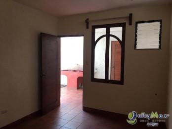 Renta de apartamento sobre la Calle Real de Jocotenango