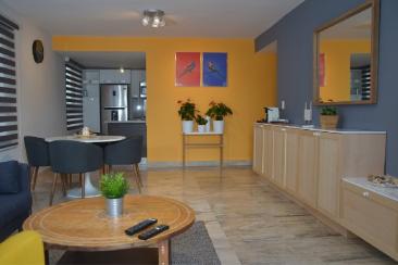 Rento Apartamento Amueblado en Piantini de 1 Habitación